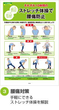 腰痛対策 手軽にできるストレッチ体操を解説